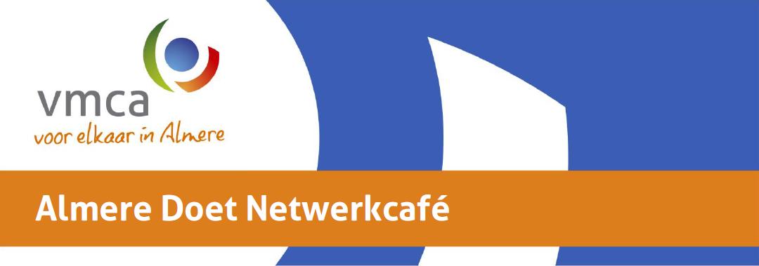 Uitnodiging Almere Doet Netwerkcafé 24 september